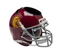 Schutt NCAA USC Trojans Football Helmet Desk Caddy