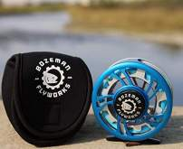 Bozeman FlyWorks The Patriot Fly Fishing Reel 3/4wt 5/6wt 7/8wt