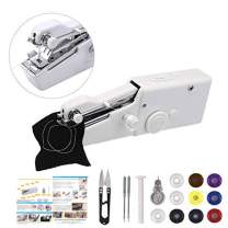 Handheld Sewing Machine,MSDADA Mini Portable Sewing Machine,Electric Household Quick Repairing Tool for Fabric,Kids Cloth, Handicrafts,Home Travel Use