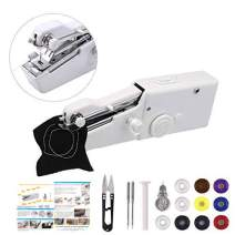 Portable Sewing Machine,MSDADA Handheld Mini Sewing Machine for Quick Mending, Stitch Sew,Home Travel Stitching,DIY Fabric Sewing,Birthday Gift for Kids &Adult(Generic Packaging)