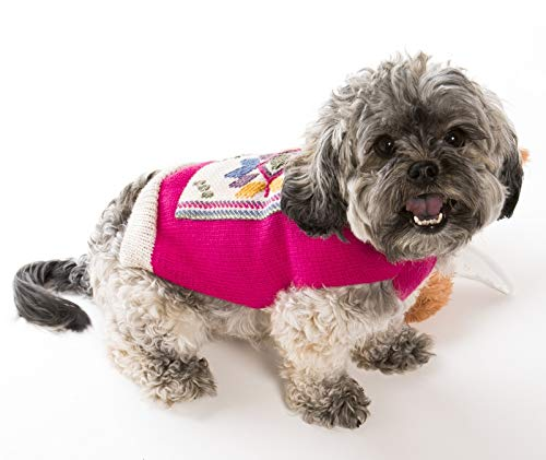 Happiness Hugs Sunray Hug Dog Sweater - Handmade Yak Down Dog Sweaters, Softer and More Sustainable Than Cashmere, Warmer Than Merino Wool, Breathable, Fashionable and Eco-Friendly