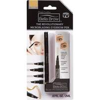 BELLA BROW By Dream Look, Microblading Eyebrow Pen with Precision Applicator (Single Pack - Blonde) – As Seen On TV, Natural Looking, Smudge Proof, Waterproof, Long Lasting