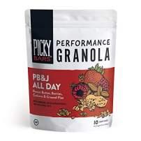 Picky Bars Performance Granola, PB&J All Day, 10.6oz bag (10 servings)