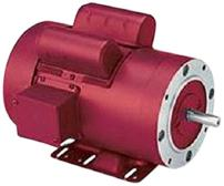 Leeson 110088.00 General Purpose Agricultural Motor, 1 Phase, 56 Frame, Rigid Mounting, 1HP, 1800 RPM, 115/208-230V Voltage, 60Hz Fequency