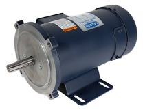Leeson 108016.00 SCR Rated DC Motor, 56C Frame, C-Face Rigid Mounting, 3/4HP, 2500 RPM, 90 & 180V Voltage