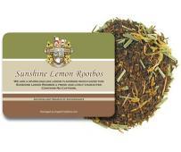 English Tea Store Loose Leaf, Sunshine Lemon Rooibos Caffeine Free Tea - 4oz, 4 Ounce