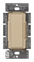 Lutron MSC-600M-DS Maestro 600-Watt Multi-location Dimmer Desert Stone