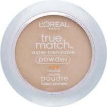 L'Oreal True Match Powder, Soft Ivory [N1], 0.33 oz