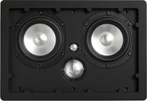 NHT iW4-ARC 3-Way In-Wall Home Theater Speaker with Aluminum Driver, 150 Watts, Single, Matte White