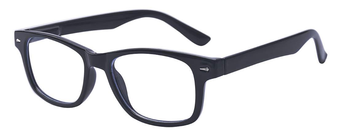 Kelens Blue Light Blocking Computer Glasses Gaming/TV/Phones Glasses Anti Eyestrain Filter UV Glare & Reduce Headache Eyewear