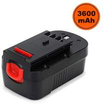 Masione 3.6Ah Ni-Mh Battery for Black & Decker 18V Battery HPB18