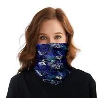 Seamless 12 in 1 Multifunctional Headwear Face Mask Bandanas Neck Gaiter