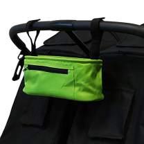 ZOE BEST Universal Stroller Parent Organizer Console (Lime Green)