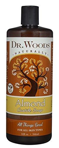 Dr. Woods Pure Almond Castile Soap, 32 Ounce