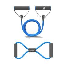 LIVEUP SPORTS Resistance Bands Resistance Tubes with Foam Handles, Exercise Cords for Exercise Fitness Pilates Strength Training