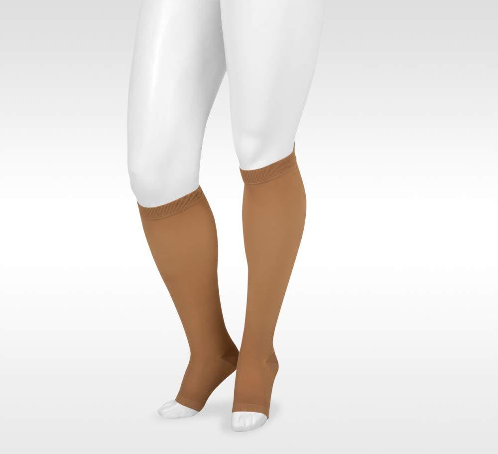 Juzo Basic 4410ad 15-20mmhg Knee-High Open Toe Compression Stocking