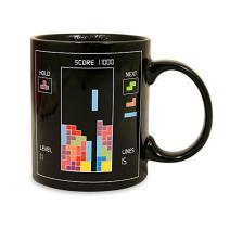 Tetris Heat Changing Ceramic Coffee Mug - Classic Video Game Themed