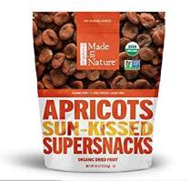 Made in Nature Organic Dried Apricots, 48oz - Non-GMO Vegan Dried Fruit Super Snack