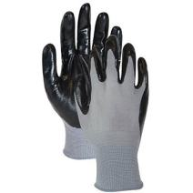 Magid Glove and Safety Hand Master Economy Nitrile Coated Palm Glove (Pack of 3), Large