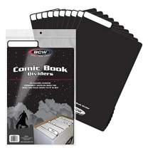 BCW 1-CD-BLK Comic Book Dividers-Black