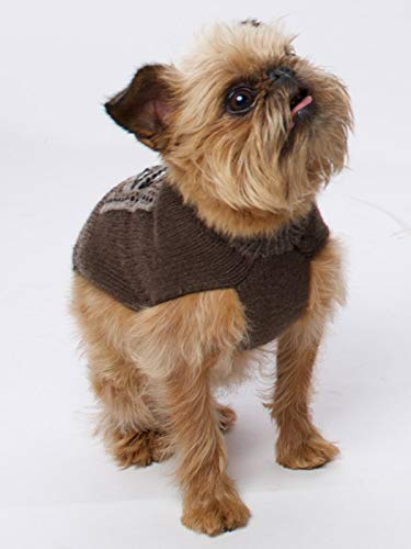 Happiness Hugs Thala Hug Dog Sweater - Handmade Yak Down Dog Sweaters, Softer and More Sustainable Than Cashmere, Warmer Than Merino Wool, Breathable, Fashionable and Eco-Friendly