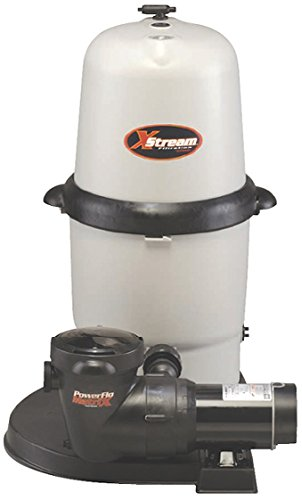 Hayward CC150932S XStream 1.5 HP Dual-Speed Above-Ground Pool Filter Pump System