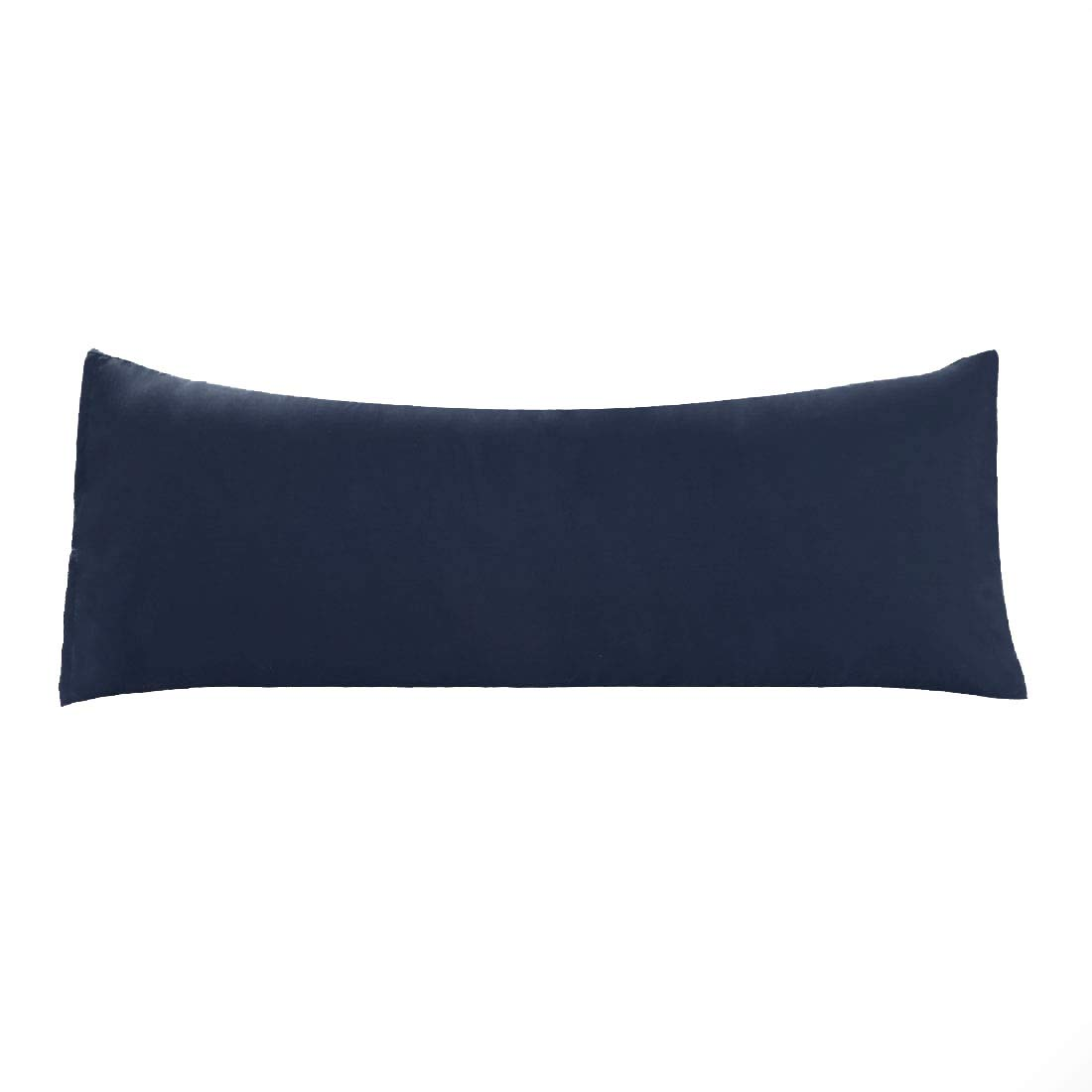 "uxcell Body Pillow Case, 1800 Soft Microfiber Pillowcases, Full Replacement Covers for Body Pillows Navy 20""x72"""