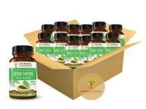 Green Papaya Fruit Powder Capsules - 60/450mg Veggie Capsules - Blood Cleanse & Detox - by Herbal Goodness