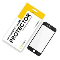 RhinoShield Glass Screen Protector Compatible with [iPhone 6 / iPhone 6s] | 9H 3D Curved Edge to Edge Tempered Glass - Full Coverage Clear and Scratch Resistant Screen Protection - Black