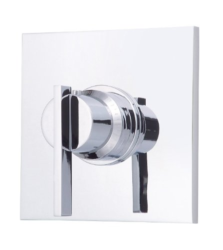 Danze D562044T Sirius Single Handle 3/4-Inch Thermostatic Shower Valve Trim Kit, Chrome (Valve Not Included)