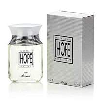 Hope for Men EDP - Eau De Parfum 75 ML (2.5 oz) | Middle East Fragrance | Seamless Fusion of Spices, Musk, Woods | Evokes Success, Energy, Optimism & HOPE | by RASASI Perfumes