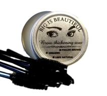 BIG IS BEAUTIFUL! Natural Eyebrow and Eyelash Re-Growth Wax. Organic. Stimulates Hair Growth. Hair Thickening. Made with Orgainc Castor Oil and the Purest Essential Oils.Makes a Great Brow Wax Primer