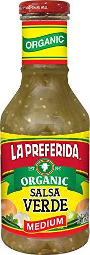 La Preferida Organic Salsa Verde, Medium, 16 OZ (Pack - 6)