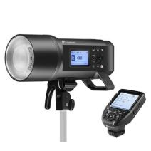 Flashpoint XPLOR 600PRO TTL Battery-Powered Monolight with Built-in R2 2.4GHz Radio Remote System R2 Pro Transmitter for Canon (Bowens Mount) - Godox AD600 Pro
