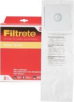 3M Filtrete NuTone CV-391 Micro Allergen Vacuum Bag