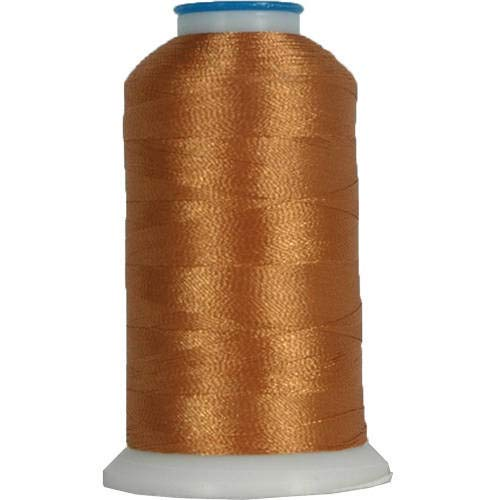 Threadart Polyester Machine Embroidery Thread By the Spool - No. 309 - Warm Tan - 1000M - 40wt - 220 Colors Available
