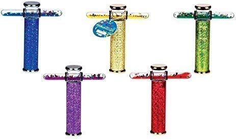 Glitter Wand Kaleidoscope 6 Inches - Continuous Movement Kaleidoscope,,Liquid & Glitter Filled Wands Kaleidoscope(ONE)