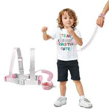 Safety Anti Lost Wrist Link for Toddlers,Baby Harness for Walking,Soft Kids Leash,Skin-Friendly