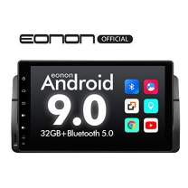 2020 Car Stereo Android Head Unit,Eonon 9 Inch Android 9.0 Car Radio,Car Stereo Applicable to BMW 3 Series with Navigation Support Carplay/Android Auto/WiFi/Fast Boot/DVR/Backup Camera-GA9350B