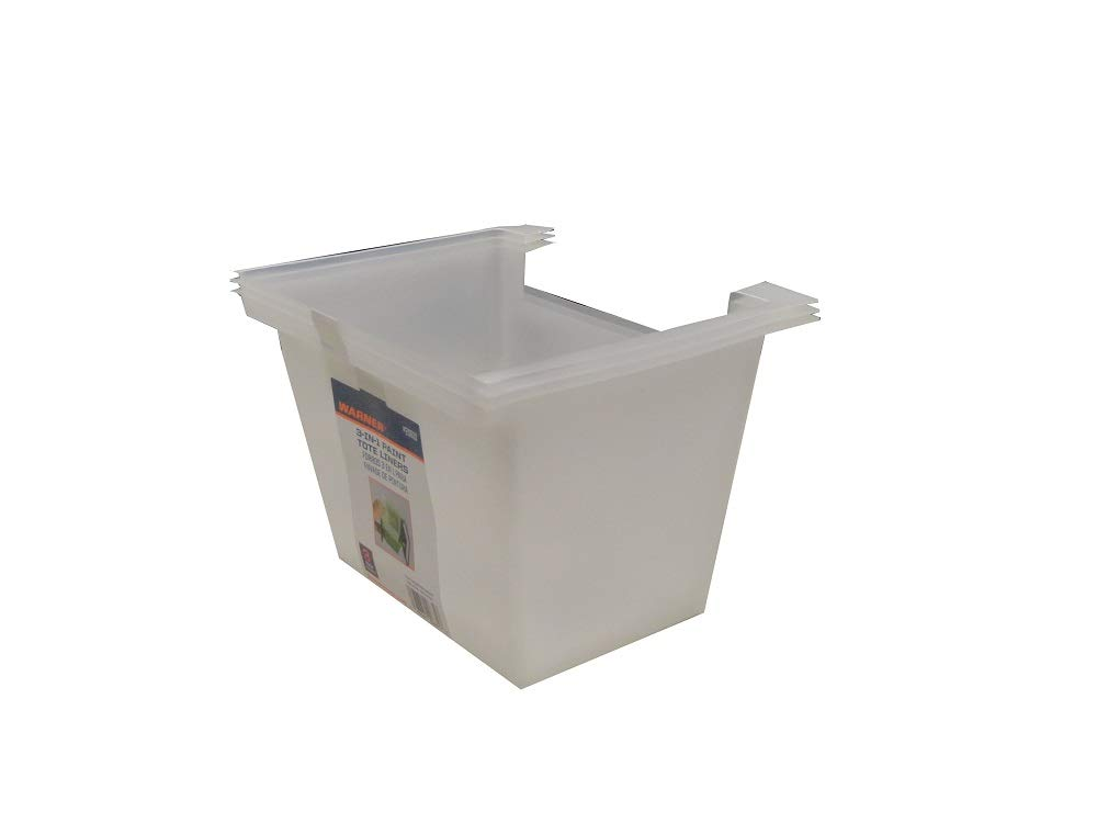 Warner Paint Tote Transparent Liners, 20631