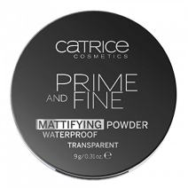 Catrice Prime and Fine Mattifying Powder Waterproof - Base and Primer - Translucent 010