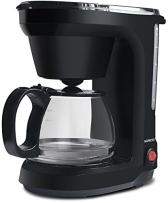 6-Cup Drip Coffee Maker, Coffee Pot Machine Including Reusable And Removable Coffee Filter - By Mixpresso