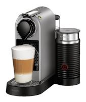 Breville-Nespresso USA BEC680SIL1BUC1 CitiZ and Milk Espresso Machine, Bundle - Silver