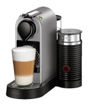 Breville-Nespresso USA BEC680SIL1BUC1 CitiZ and Milk Espresso Machine, Bundle - Silver
