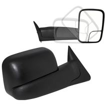Spec-D Tuning RMX-RAM94-P-ZM Dodge Ram Extending Fold Towing Tow Trailer Power Mirrors Left+Right