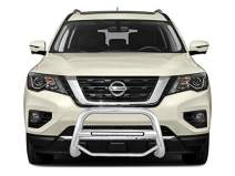 Black Horse Off Road MAB-NIA1802S Stainless Steel Stainless Steel 1 Pieces Bumper Push Bar Bull Bar