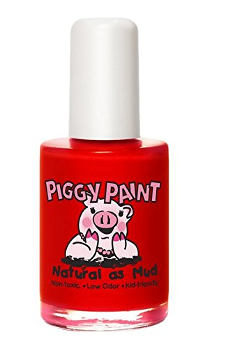 Piggy Paint 100% Non-toxic Girls Nail Polish - Safe, Chemical Free Low Odor for Kids, Sometimes Sweet