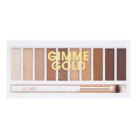 Flower Beauty Shimmer & Shade Eyeshadow Palette (Golden)