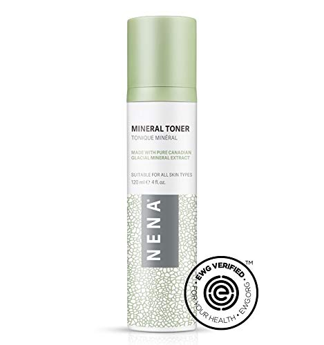 Nena Mineral Toner - Natural EWG Verified Facial Toner - Hydrating, Firming & Refreshing with Skin-Nourishing Minerals - for All Skin Types
