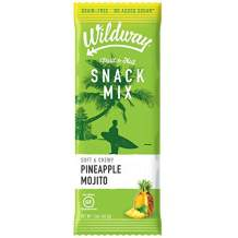 Wildway Fruit & Nut Snack Mix | Pineapple Mojito | Certified Gluten-Free, Grain-Free, Paleo, Non-GMO, No Added Sugars or Extracts - 6pk